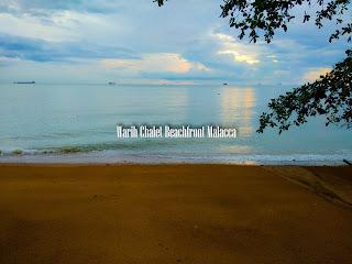 Warih-Chalet-Beachfront-Malacca-Stunning-Sunset
