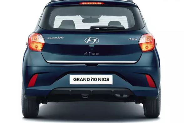 All new Hyundai Grand i10 Nios Rear view