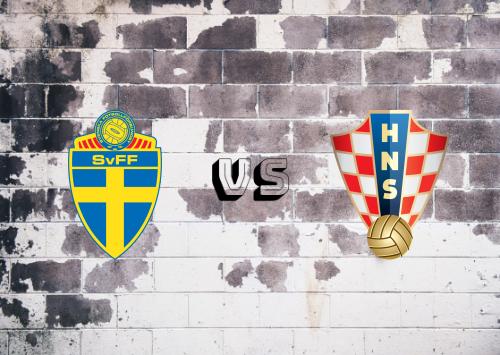 Suecia vs Croacia  Resumen y Partido Completo