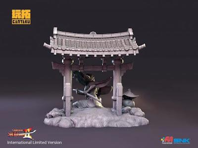 """Ukyo Tachibana 1/8 de """"Samurai Showdown"""" - Gantaku"""