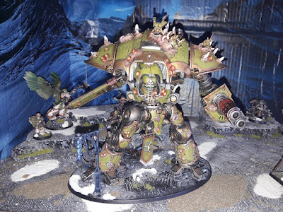 Nurgle Knight Titans - Part 12 (Second Knight Finished)