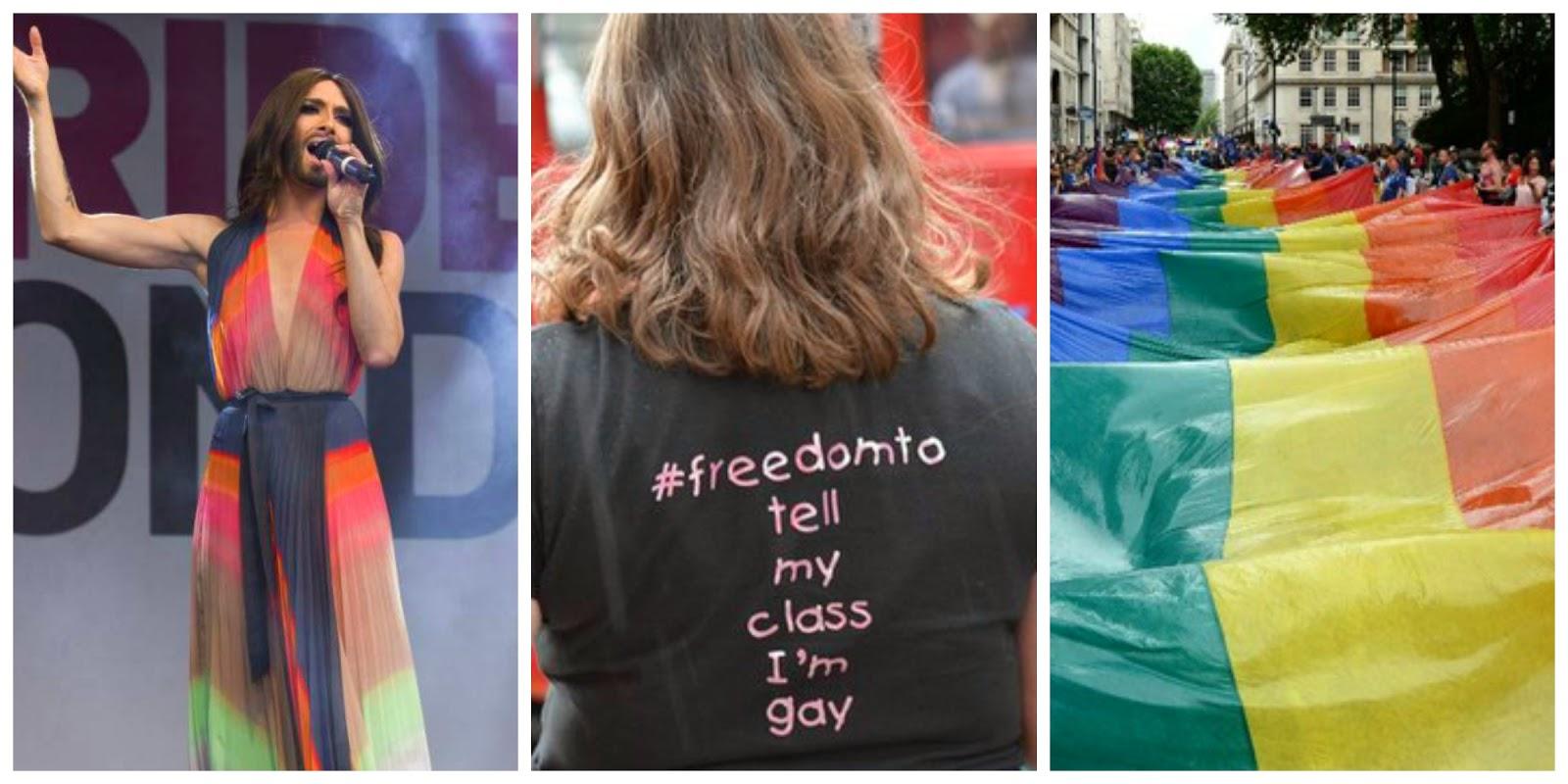 Celebrating London Pride 2014