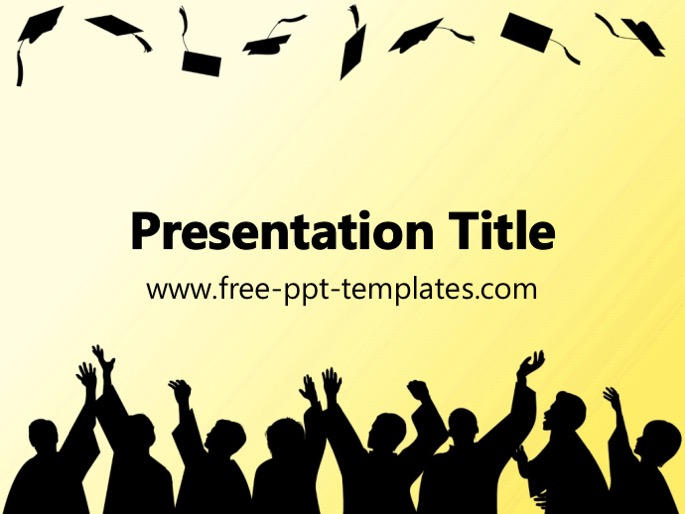 Graduation ppt template toneelgroepblik Choice Image