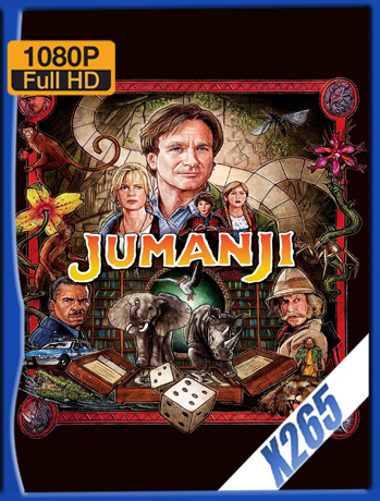 Jumanji [1995] 1080P Latino [X265] [ChrisHD]