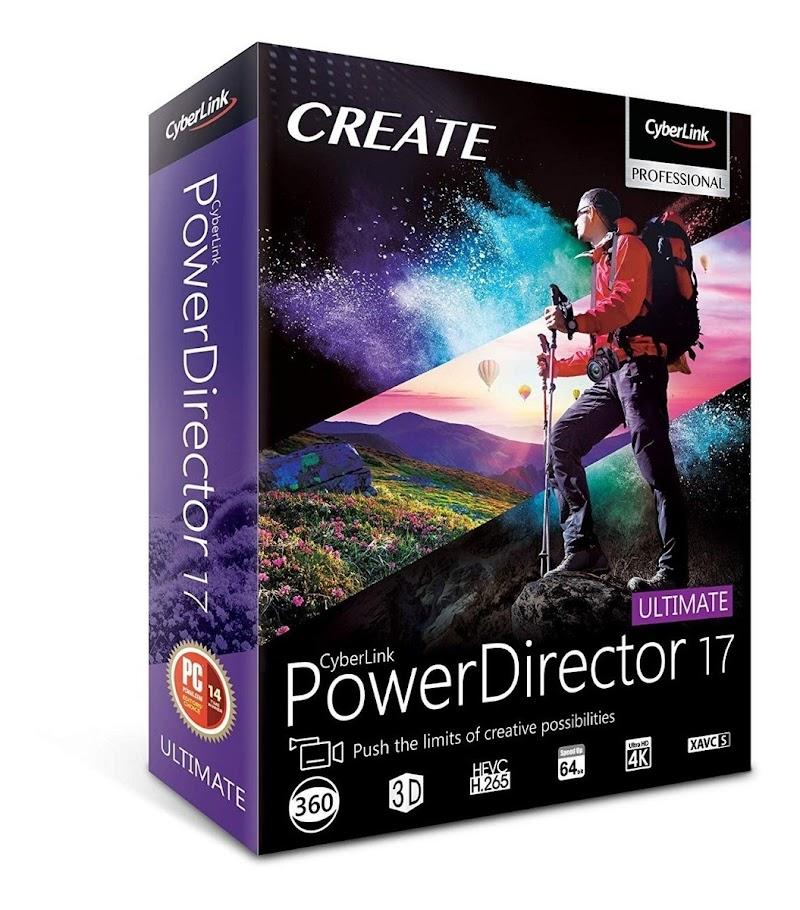 PowerDirector Ultimate 17 Crack e Serial Download Grátis