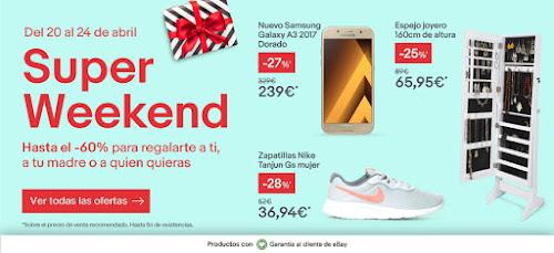 Mejores móviles Super Weekend de eBay