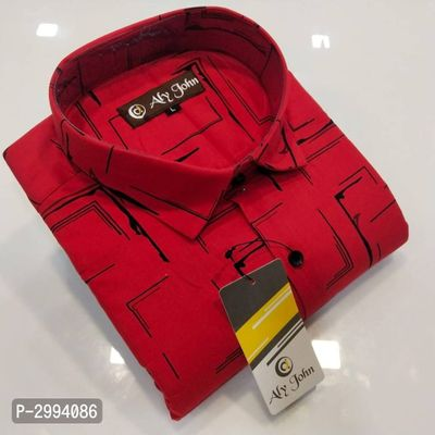 Premium Cotton Printed Casual Shirts For Men