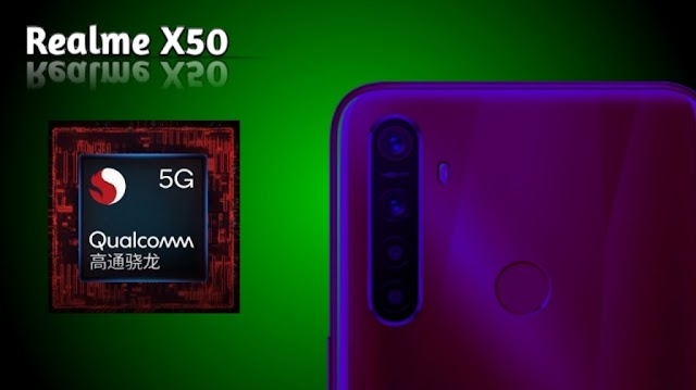 The final secret of Realme x50 5G comes before 25 january.