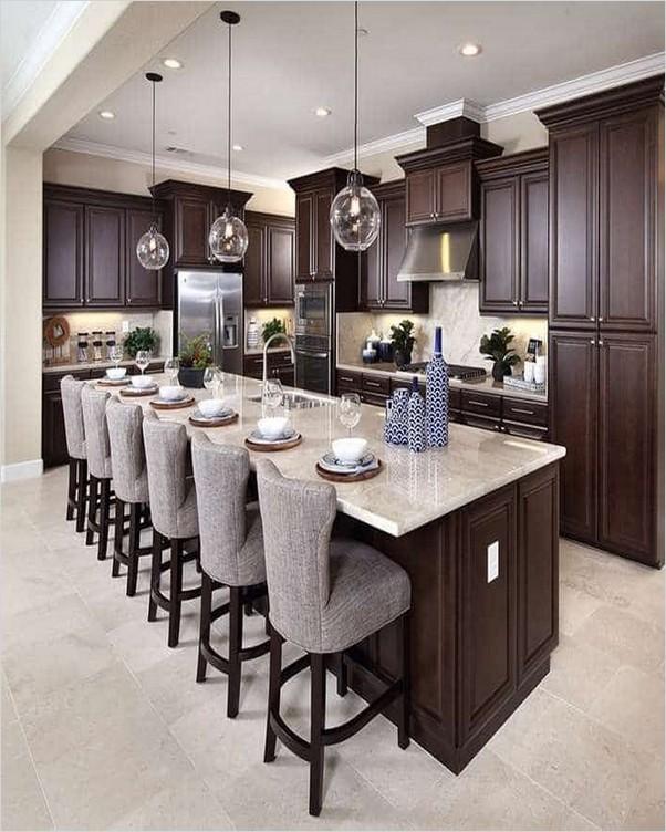 Dark Kitchen Cabinet Ideas Home Interior Exterior Decor Design Ideas