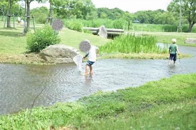 吉野ヶ里歴史公園の小川