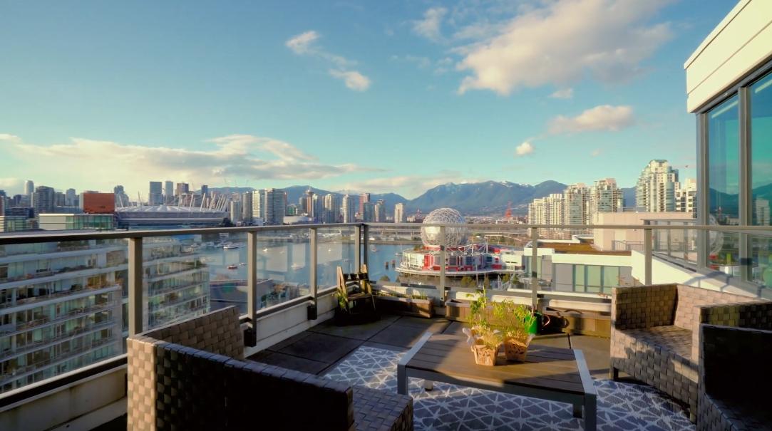 13 Interior Design Photos vs. 1688 Pullman Porter St #1402, Vancouver, BC Penthouse Tour