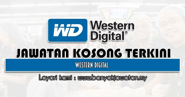 Jawatan Kosong 2021 di Western Digital