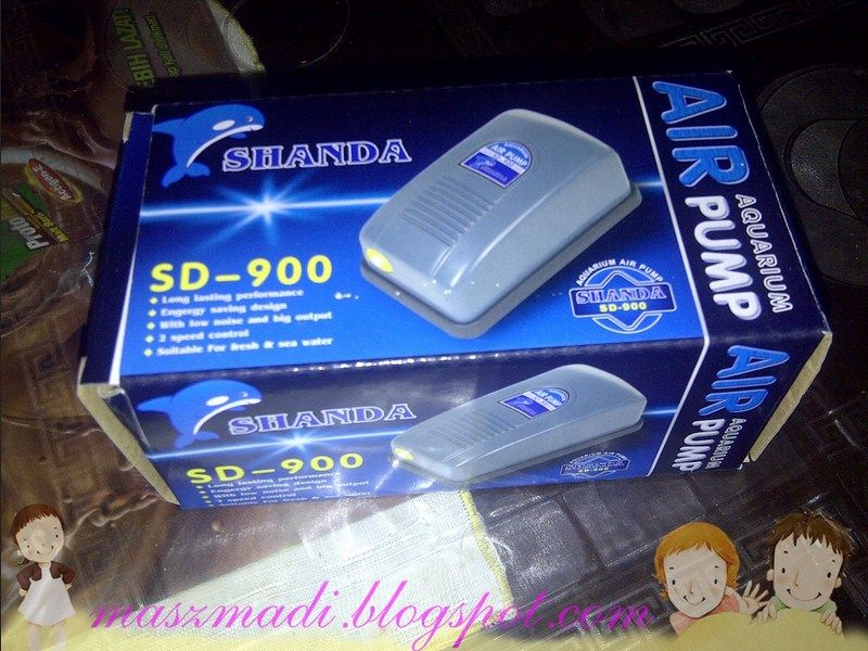 Air Pump Batteray Aquarim