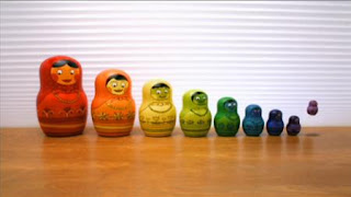 10 Russian nesting dolls. Sesame Street Preschool is Cool, Counting With Elmo