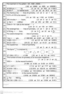187 سؤال من بنك أسئلة ماث الصف الرابع الابتدائى شهر أبريل math fourth prim. final revistion april 2021