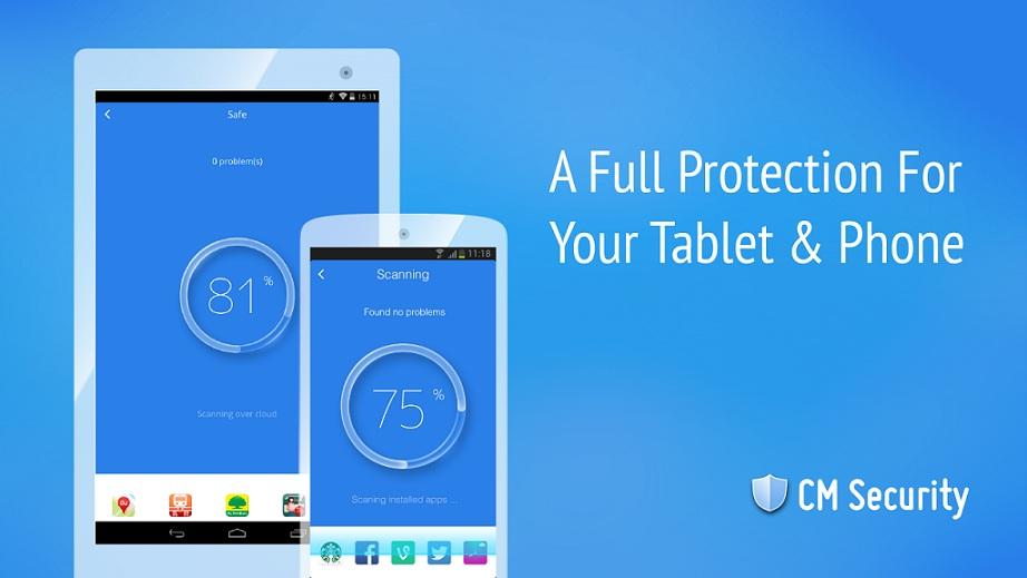برنامج CM Security لحماية متكاملة لهاتفك الاندرويد