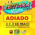 IBITIARA-BA  É ADIADO O IBITIARA-FEST 2020