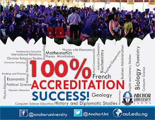 AUL Clears all Programmes at Maiden Accreditation Exercise