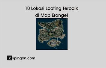 Tempat Looting di map Erangel