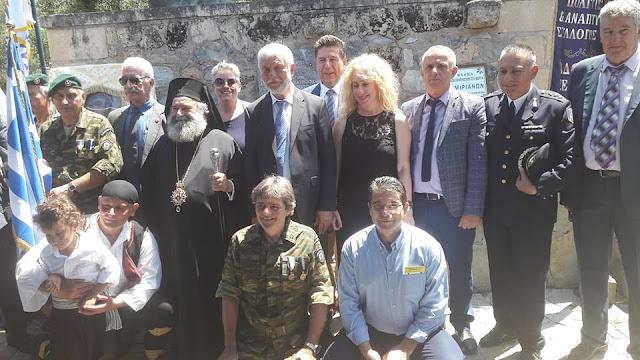 Ο Περιφερειάρχης Πελοποννήσου στις εκδηλώσεις για την μάχη της Βέργας