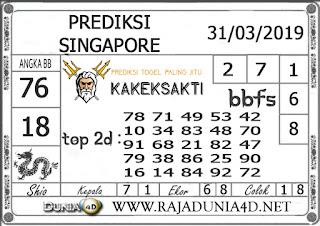 Prediksi Togel SINGAPORE DUNIA4D 31 MARET 2019