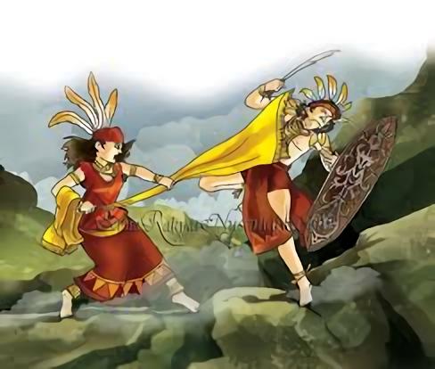 Nyai Balau, Panglima Wanita Dayak dari Tewah