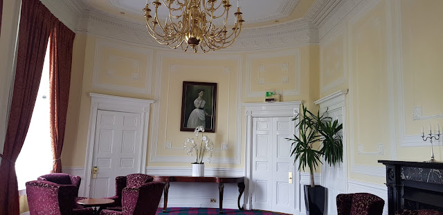 Inside Airth Castle