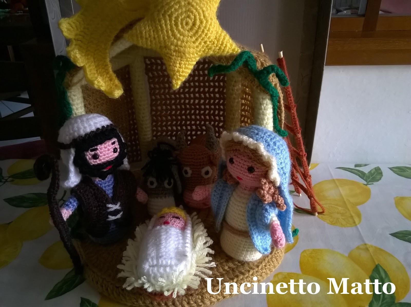 Uncinetto Matto Di Lori Il Mio Presepe