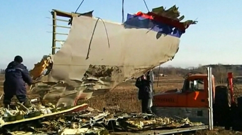 A 60-minute product explains the story's evolution on the MH17