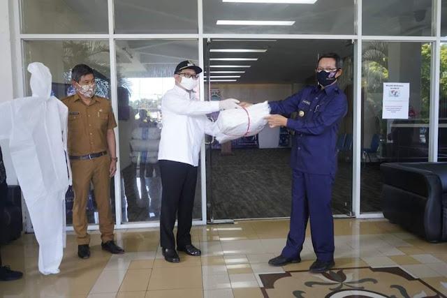 Pemkot Manado terima bantuan 500 APD dari My Home Indonesia