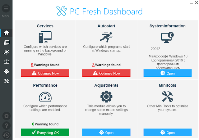 Screenshot Abelssoft PC Fresh 2020 v6.2 Build 27 Full Version