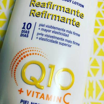 Body Loción Reafirmante Nivea Q10