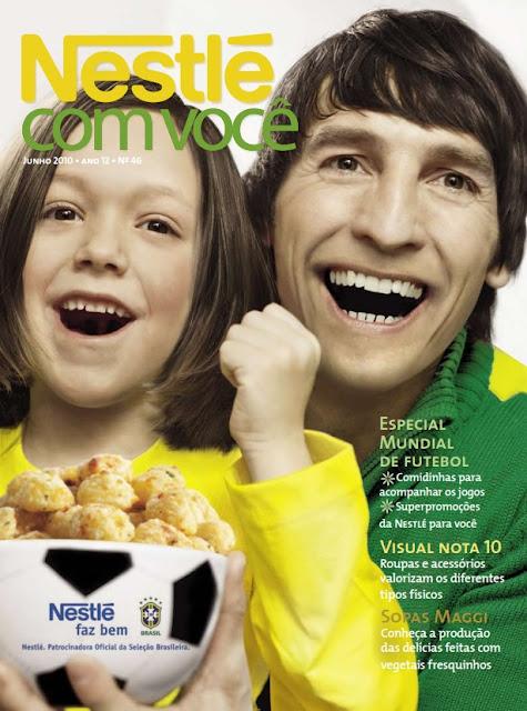 Comidas para o Jogo - Nestlé