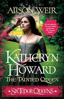 Katheryn Howard - The Tainted Queen by Alison Weir book cover