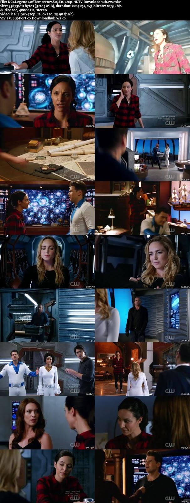 DCs Legends of Tomorrow S03E11 320MB HDTV 720p x264