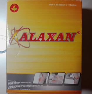 ベトナムの鎮痛剤 XALAXAN