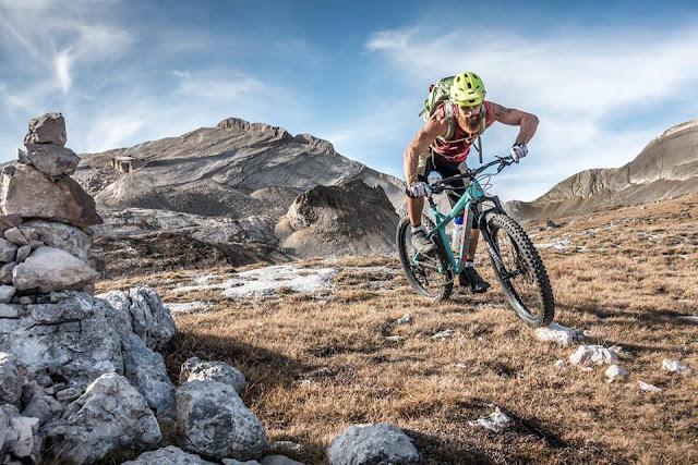 Mountainbike Tour Dolomiten Piz Züber