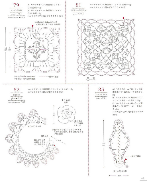 """Сумки крючком, книга """"100 Bag arrange and motif pattern"""" 2 часть"""