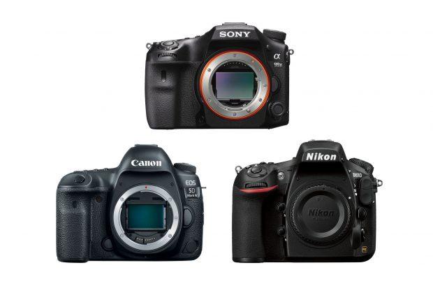 Сравнение Sony A99 II, Canon EOS 5D Mark IV и Nikon D810