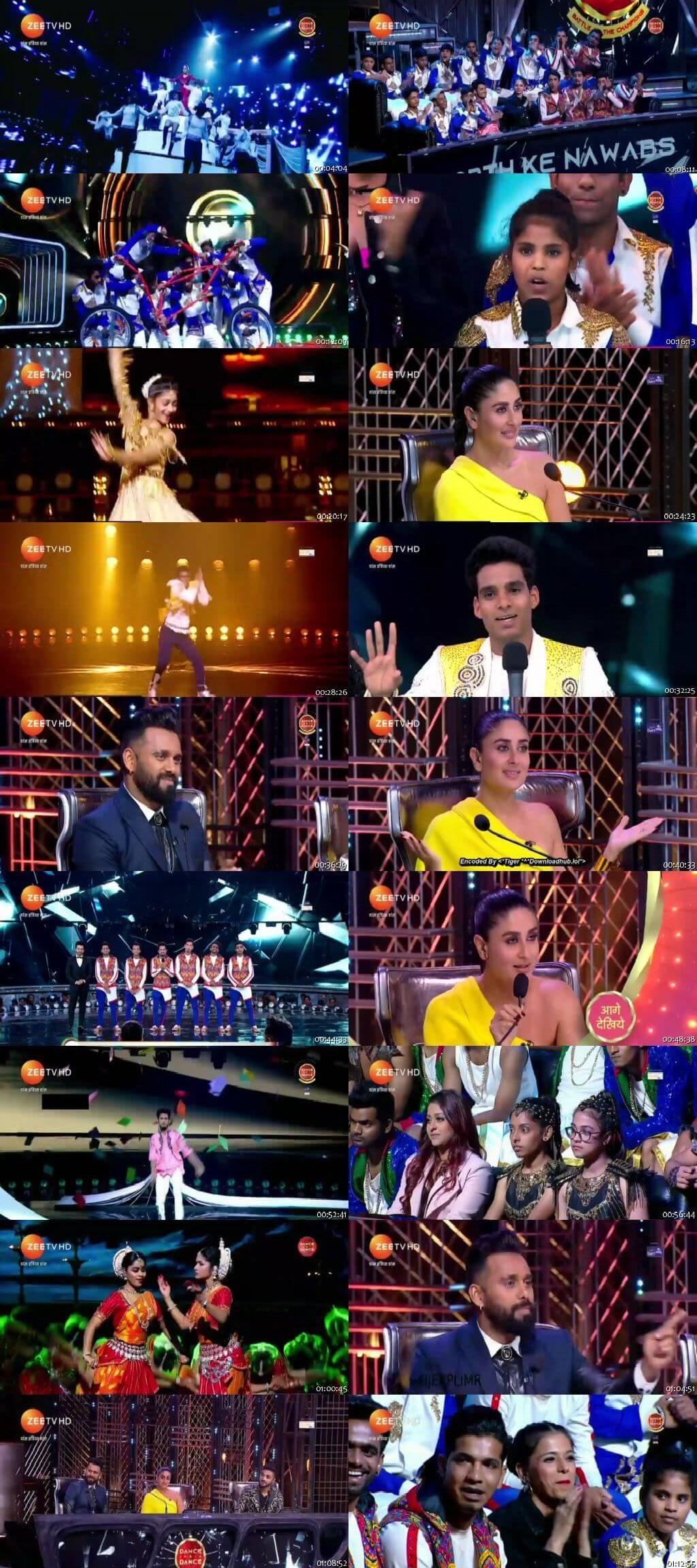 Screenshots Of Hindi Show Dance India Dance Battle of the Champions Season 7 22nd June 2019 Episode 01 300MB 480P HD