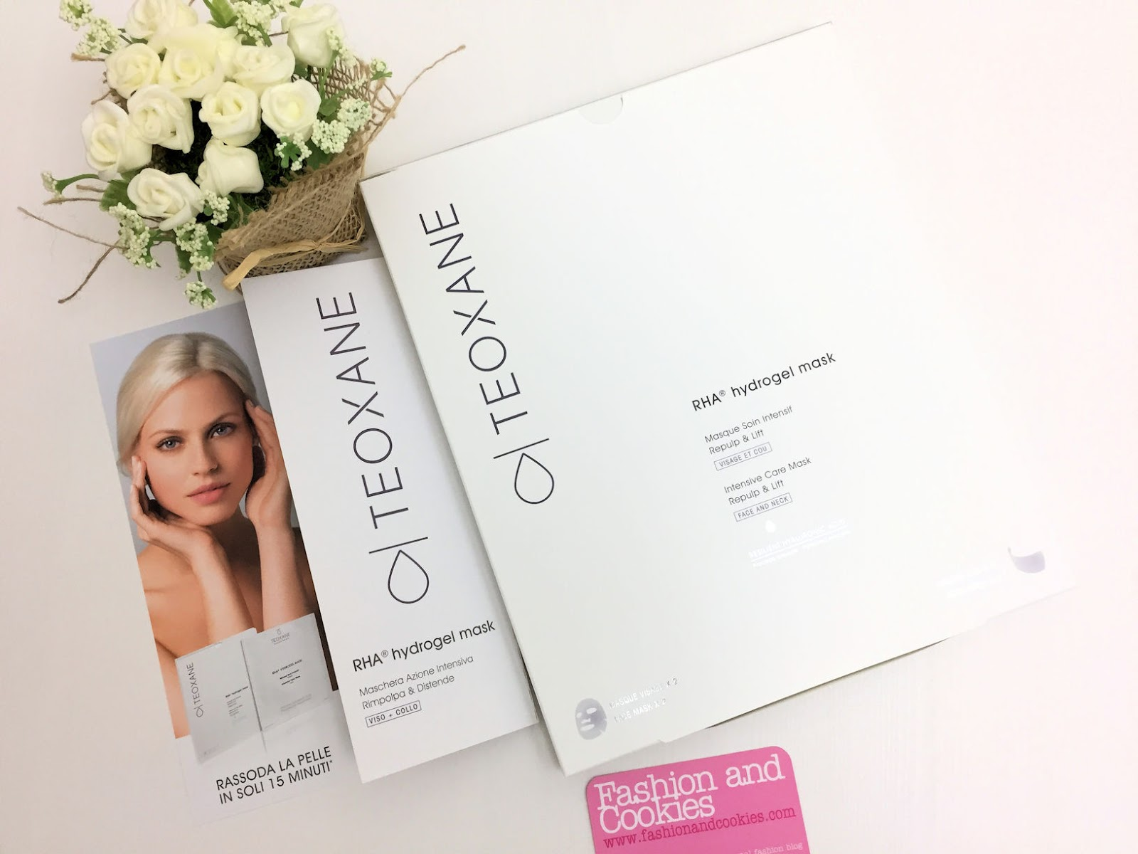 Teoxane RHA Hydrogel Mask review and presentation on Fashion and Cookies beauty blog, beauty blogger