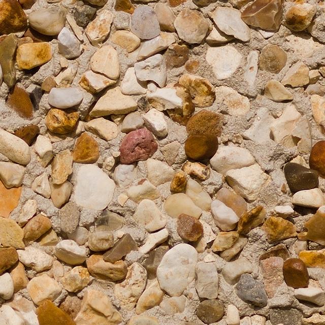 Stony pebblestone wall texture 100%
