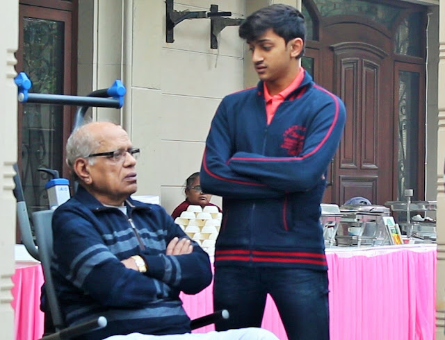 17-year-old fulfills grandfather's philanthropic aspiration