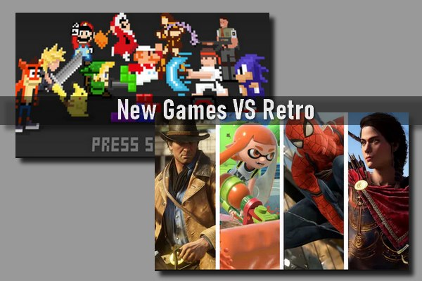 New Games VS Retro