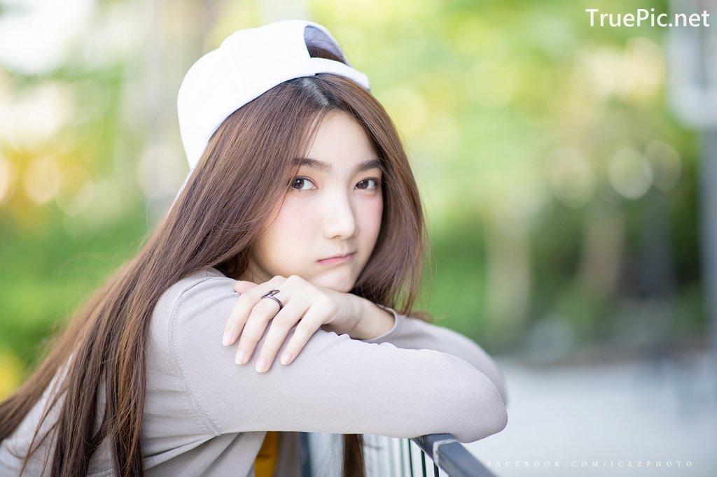 Image-Thailand-Cute-Model-Creammy-Chanama-Beautiful-Angel-In-Flower-Garden-TruePic.net- Picture-2