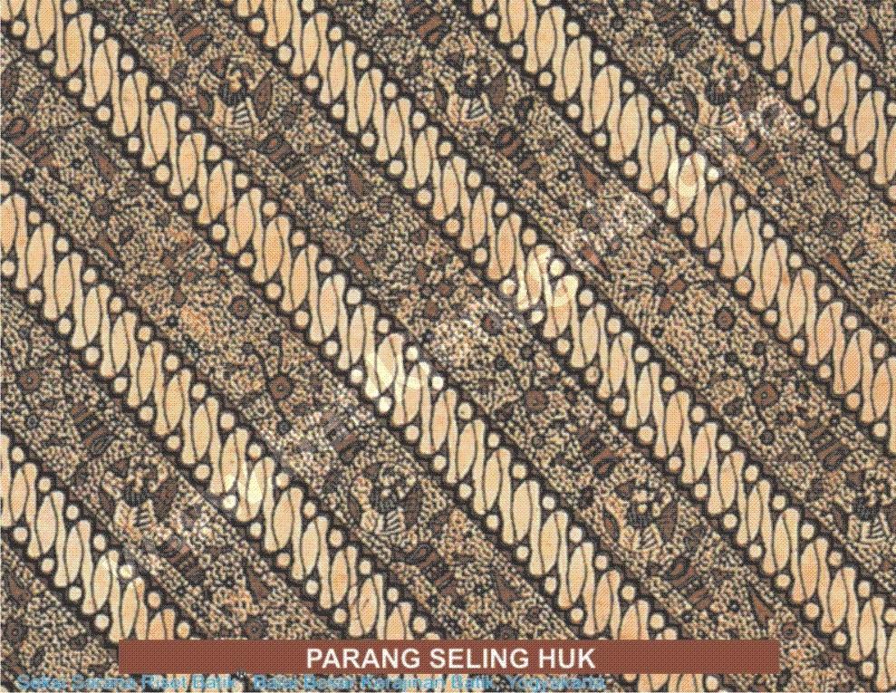 Batik Motif Parang Rusak Seling Huk