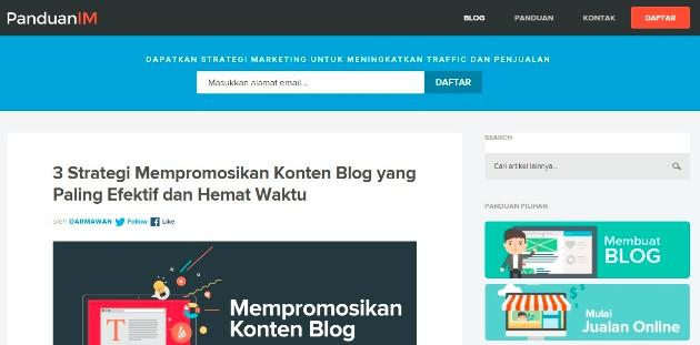 contoh website pribadi yang keren 2020