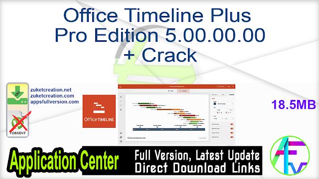 Office Timeline Plus – Pro Edition 5.00.00.00 + Crack