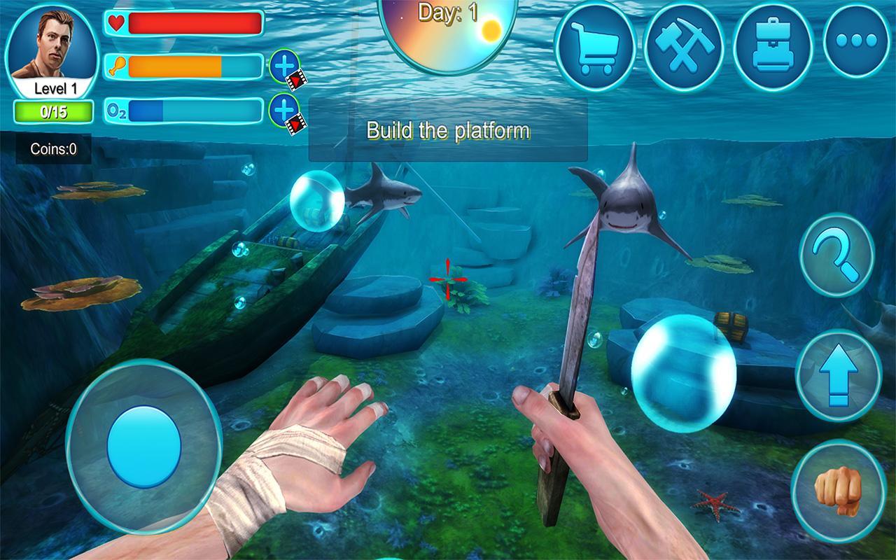 Ocean Survival 3D 2 MOD APK