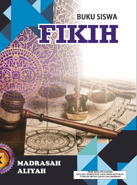 Buku Fikih MA Kelas 10 Terbaru (Sesuai KMA 183 Tahun 2019)